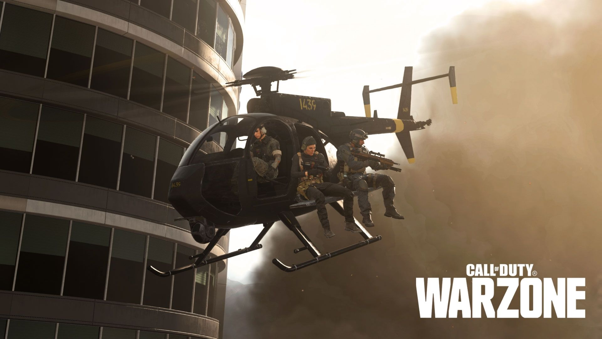 warzone helicopter