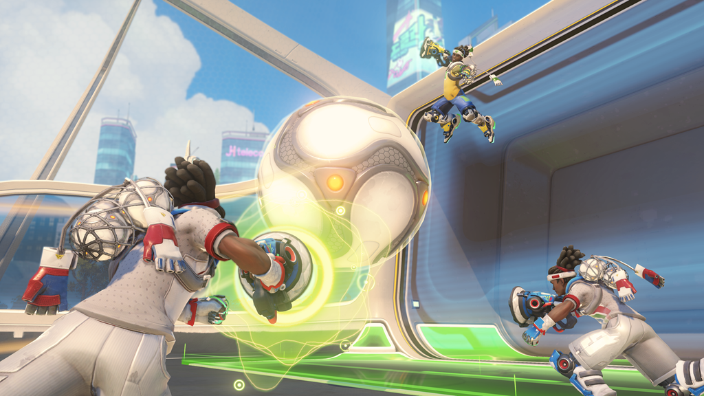Lucioball in Overwatch Summer Games