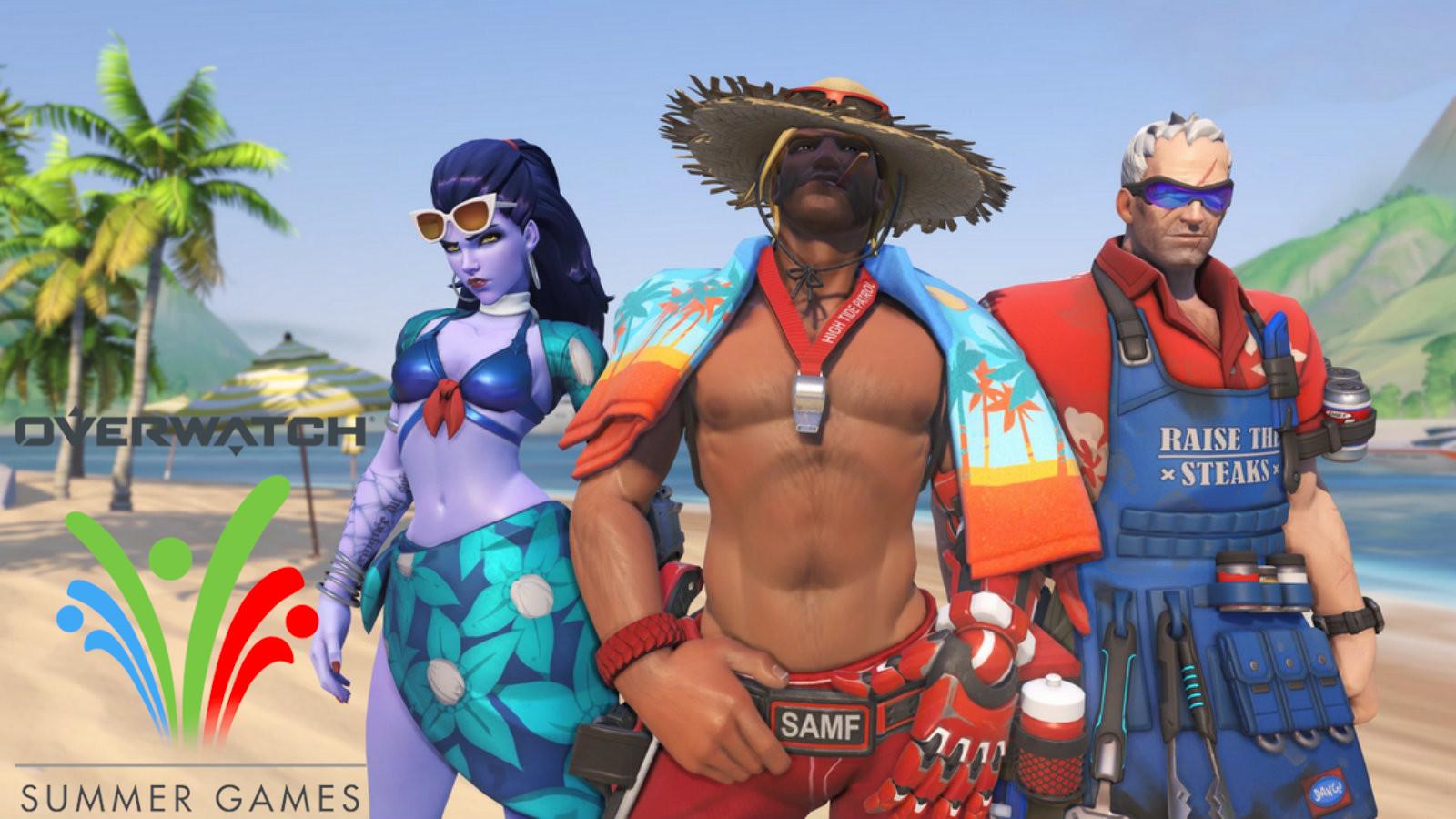 Overwatch Summer Games screen