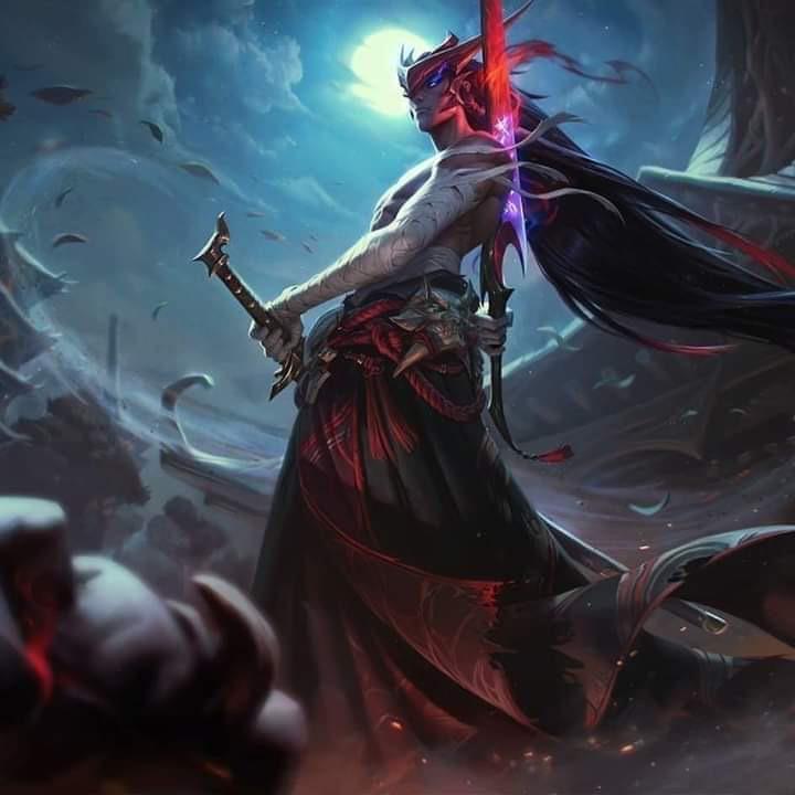 League of Legends leak for Yone champion 150