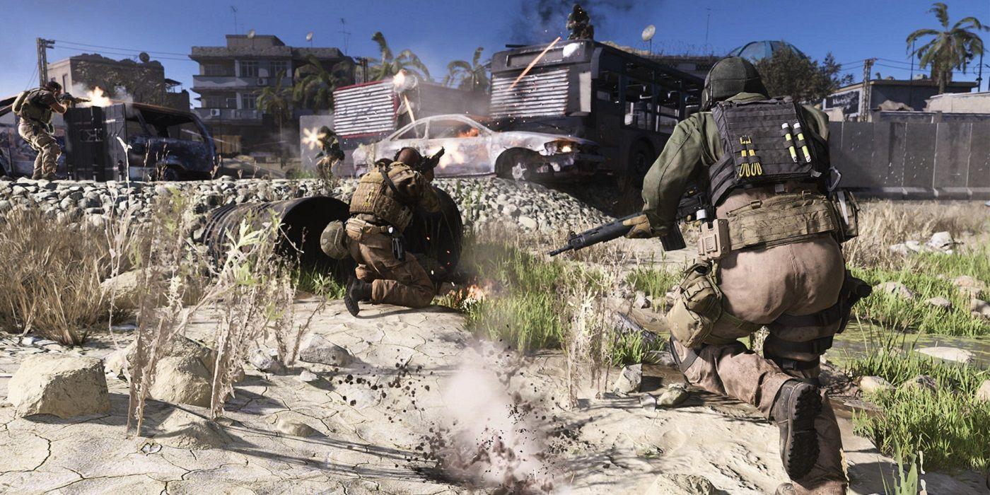 Call of Duty Modern Warfare combat