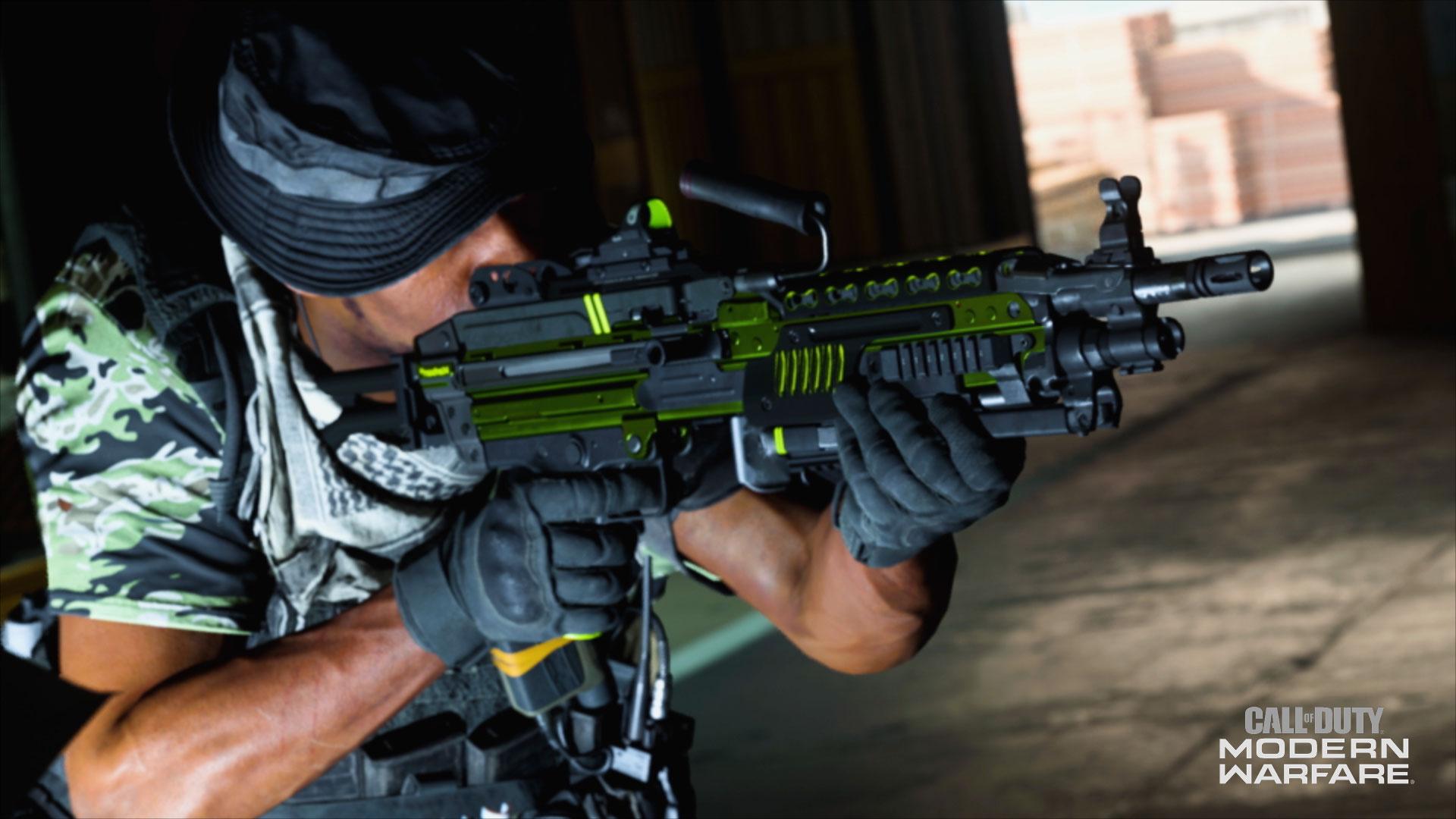 Modern Warfare Bruen MK9 glitch blueprint