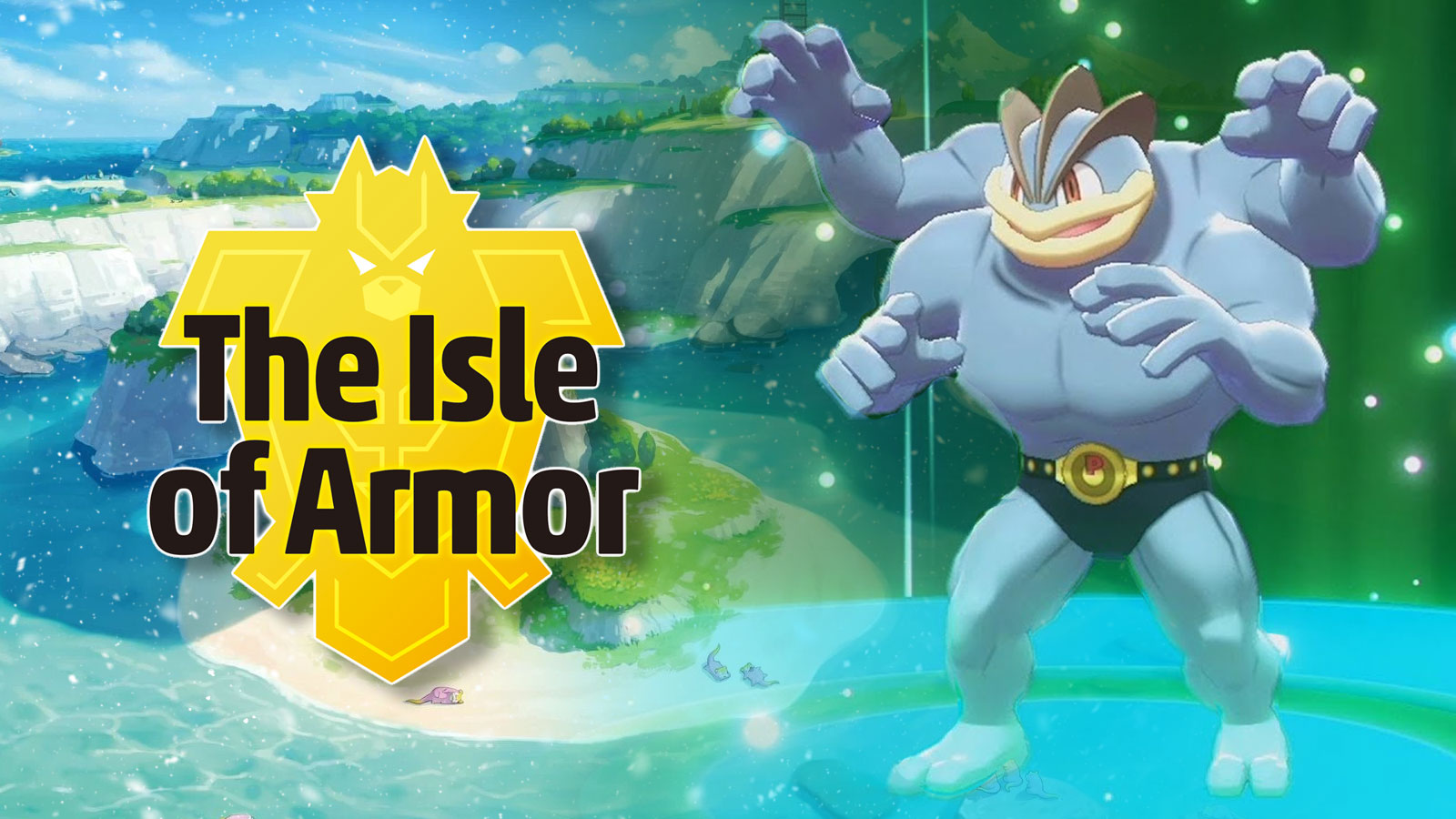 pokemon isle of armor machamp
