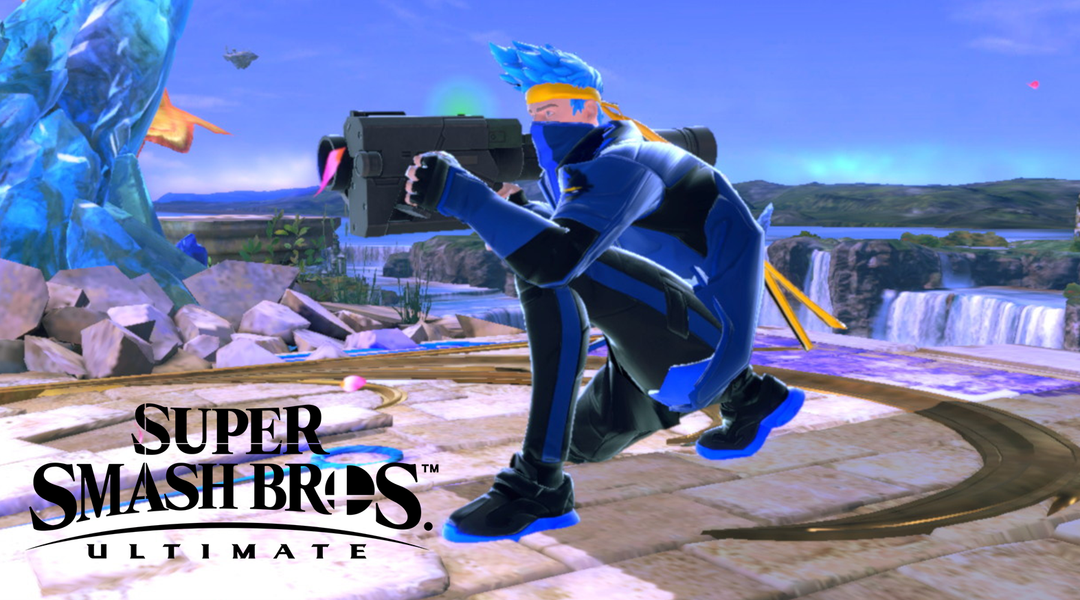 Smash Ultimate Ninja custom mod