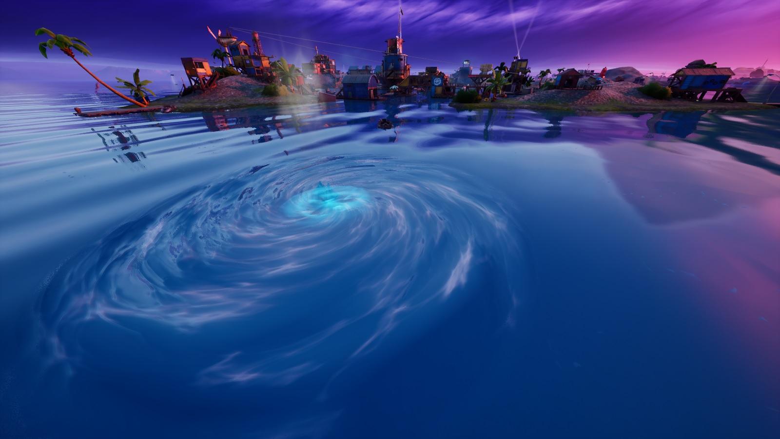 Fortnite Whirlpool at Fortilla POI