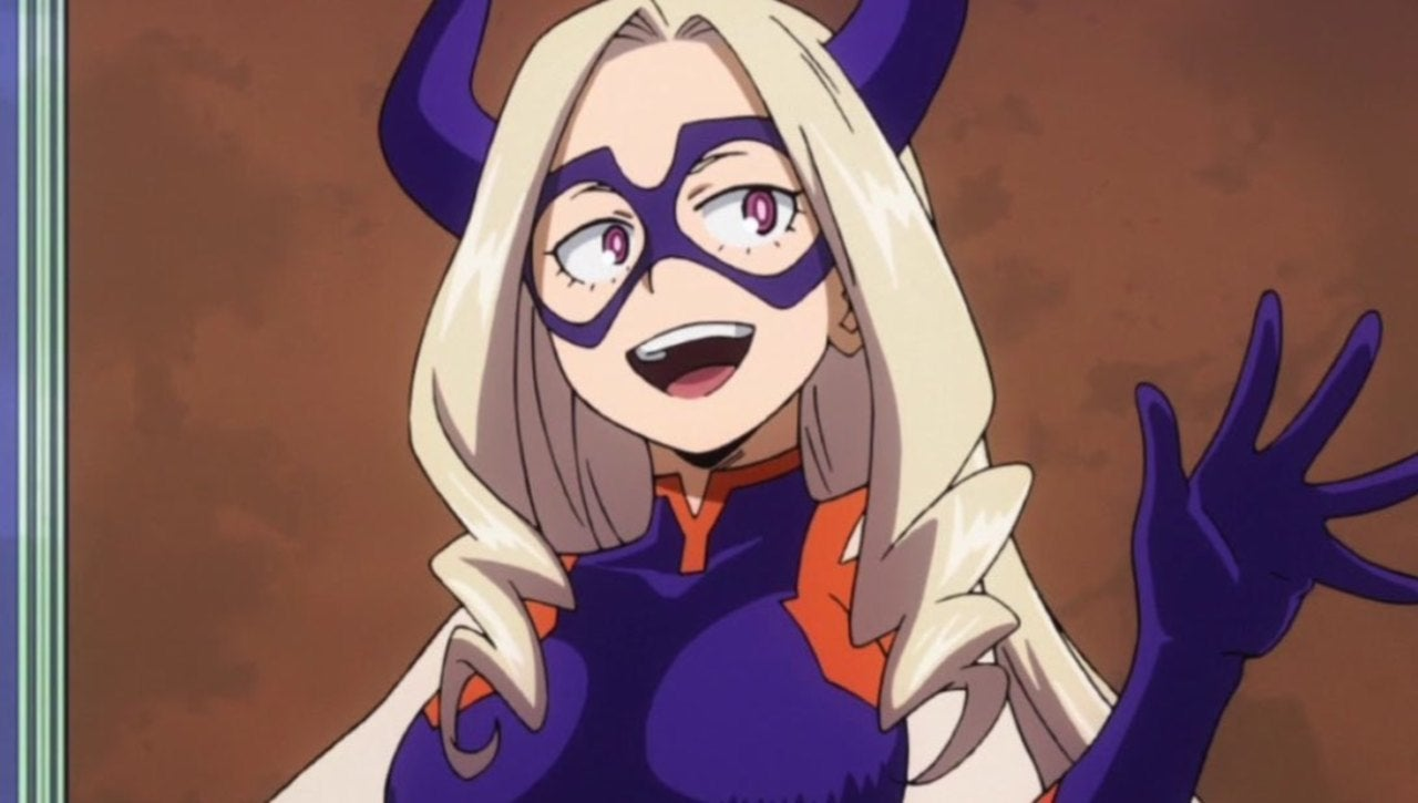Super-sized heroine Mt Lady has a cult following inside the My Hero Academia show and out.
