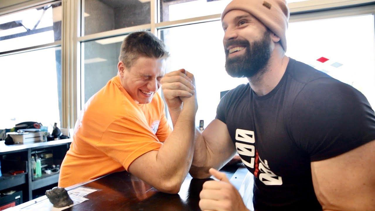 bradley martyn arm wrestling stevewilldoit
