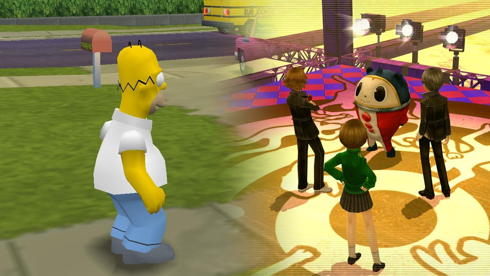 simpsons hit and run persona 4 golden playstation 5