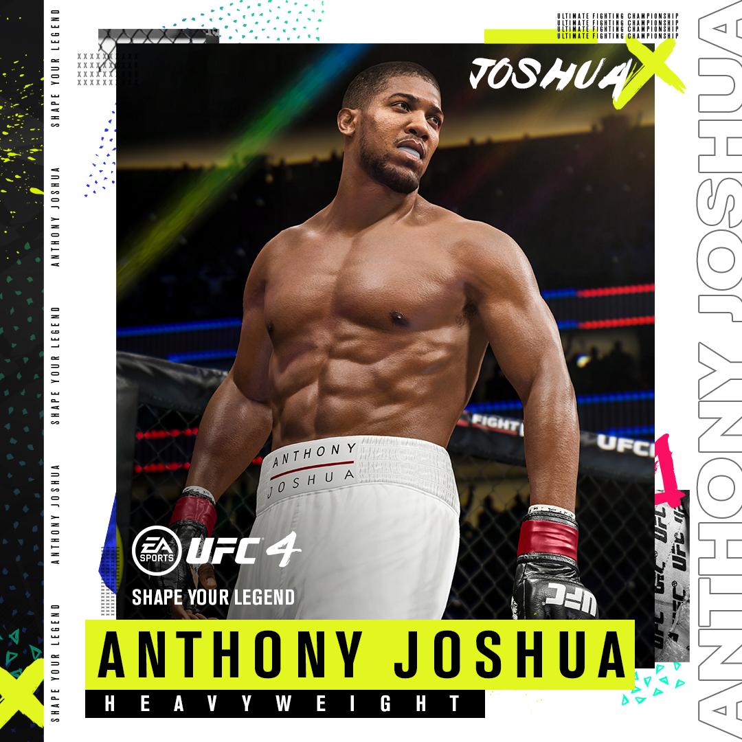 Anthony Joshua in UFC 4