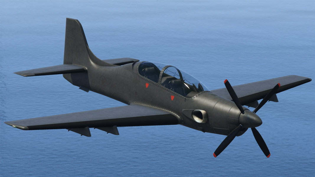 Rogue jet from GTA Online