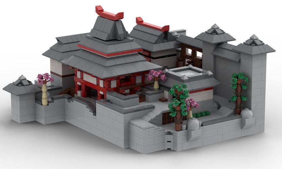 Hanamura made out of LEGO