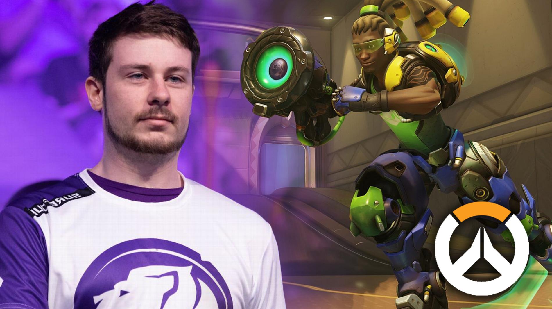 Overwatch League pro Surefour / Overwatch healer Lucio in-game