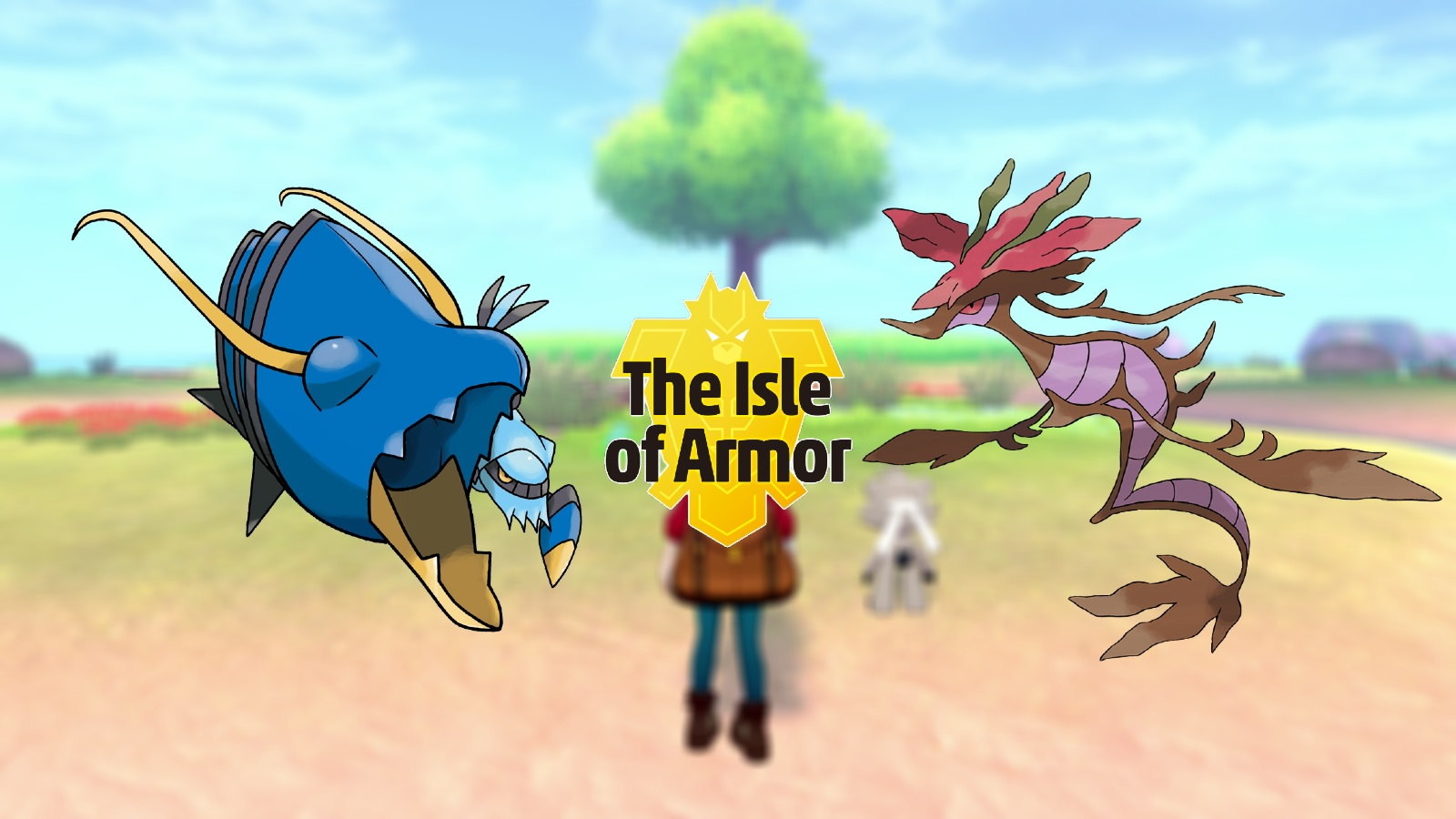Clawitzer and Dragalge Pokemon Isle of Armor