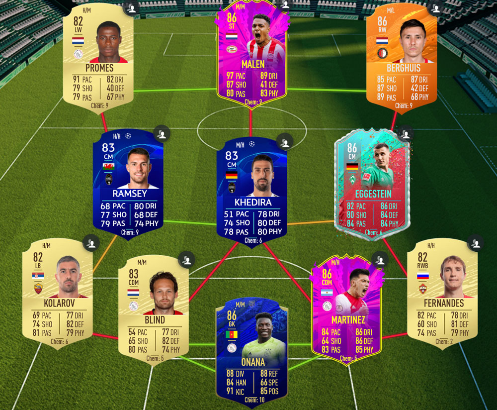 Another cheap solution to Danilo's SUmmer Showdown SBC