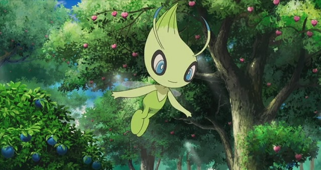Celebi Pokemon Sword Shield