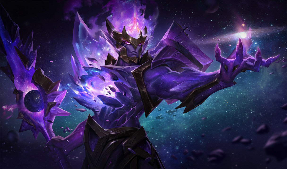 Dark Star Jarvan IV in Teamfight Tactics