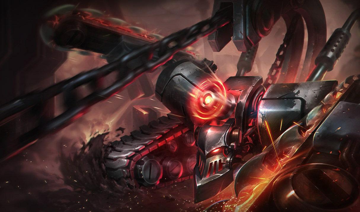 Battlecast Alpha Skarner in League of Legends