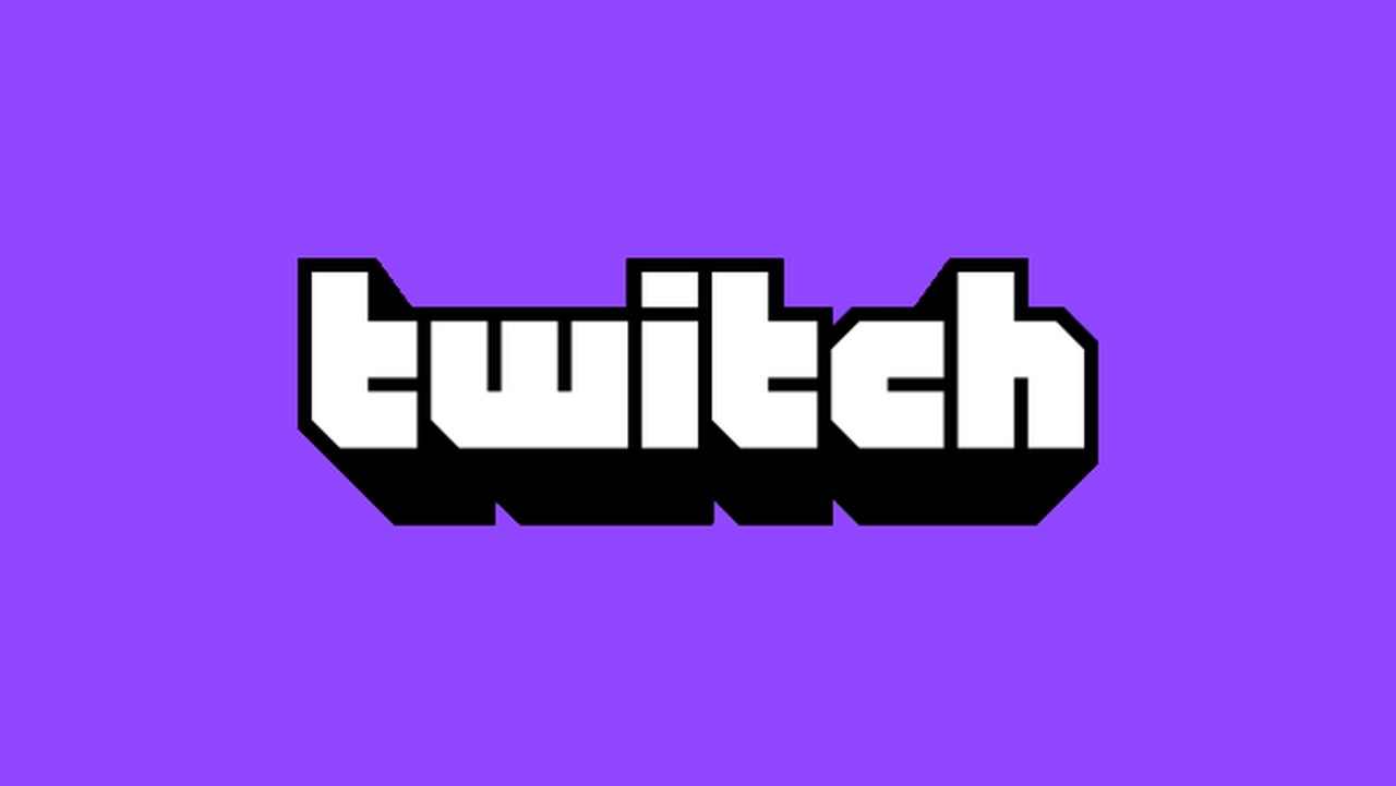 Twitch logo purple