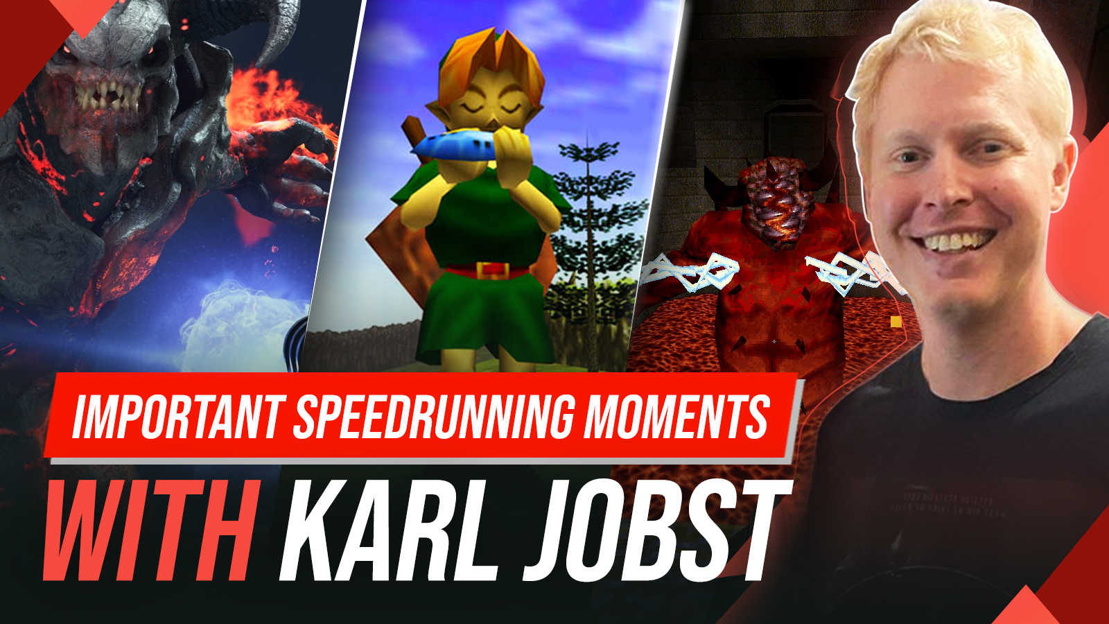 Karl Jobst and speedrunning games