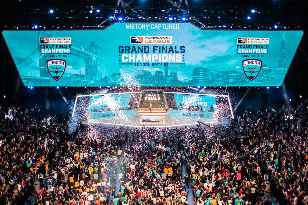 London Spitfire win the Overwatch League championship