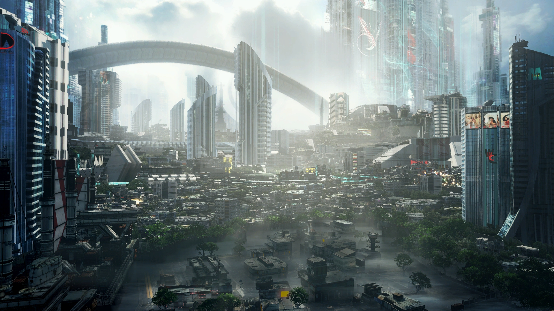 Titanfall 2 multiplayer map Angel City on Psamanthe.