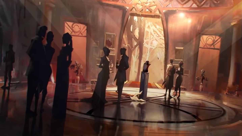 Olympus museum from Apex Legends trailer.