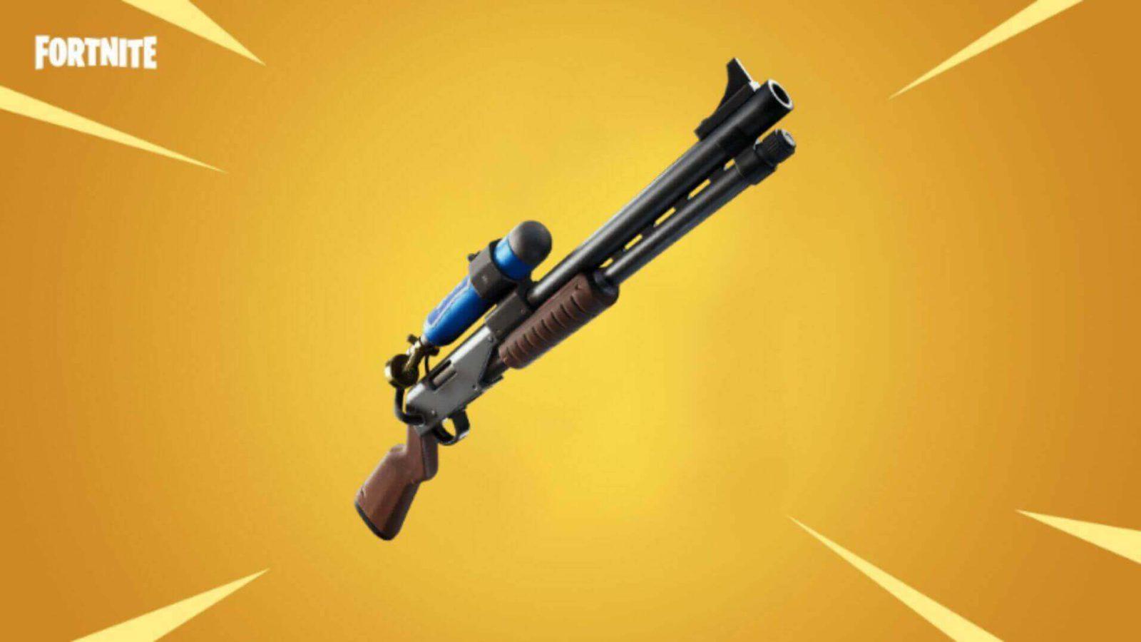 Charge shotgun in Fortnite
