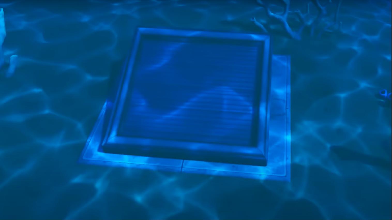 underwater bunker in Fortnite