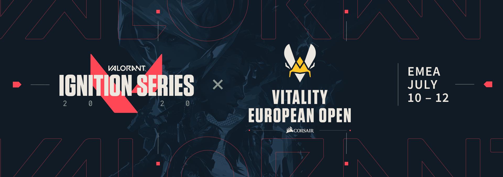 Valorant Vitality European Open.