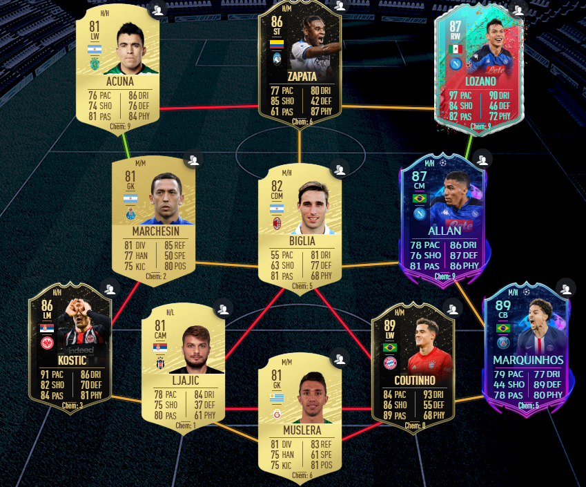Solution for Verdi Serie A SBC.