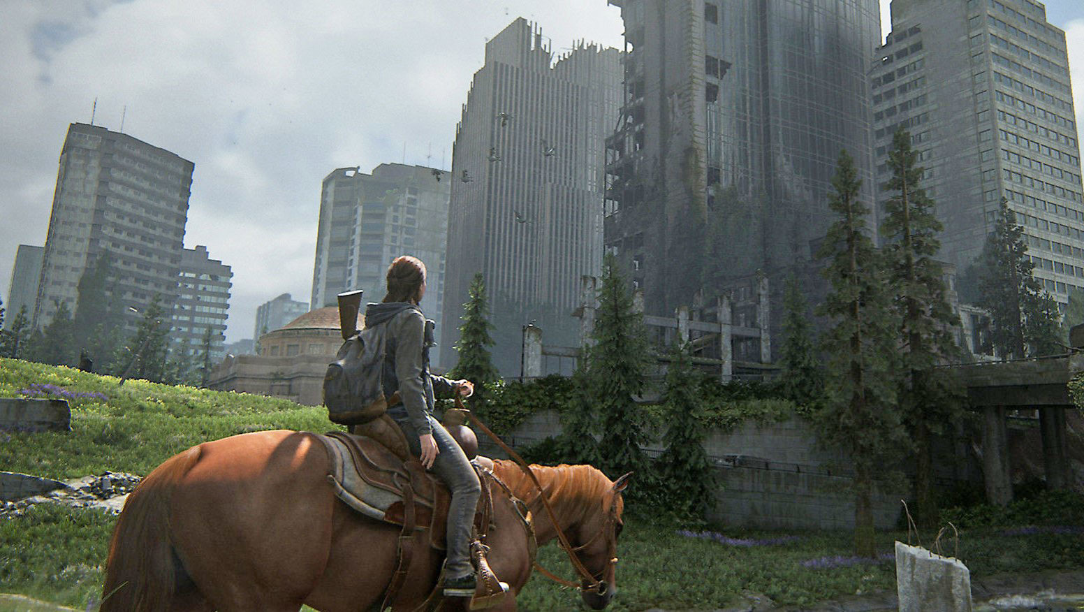 Last of Us Part 2 Ellie on her horse