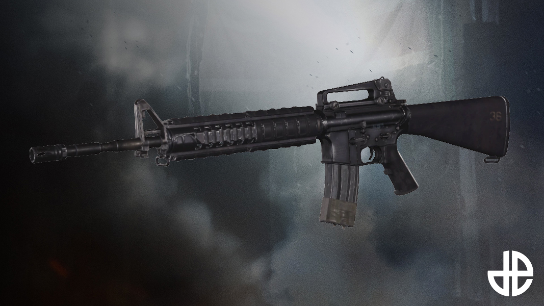 M16A4 from Modern Warfare Remastered