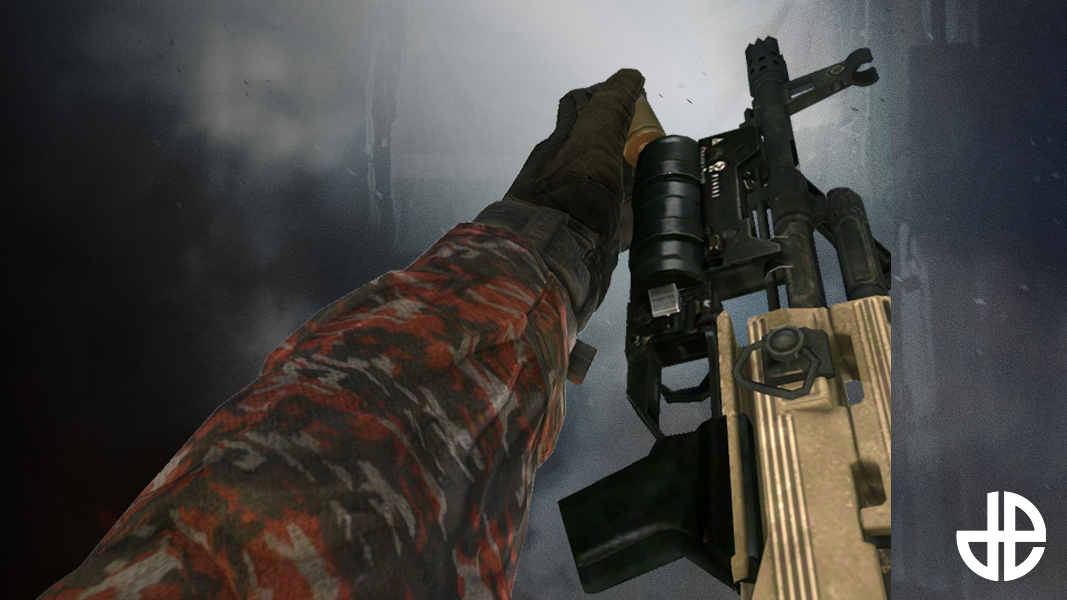 Grenade Launcher from MW2