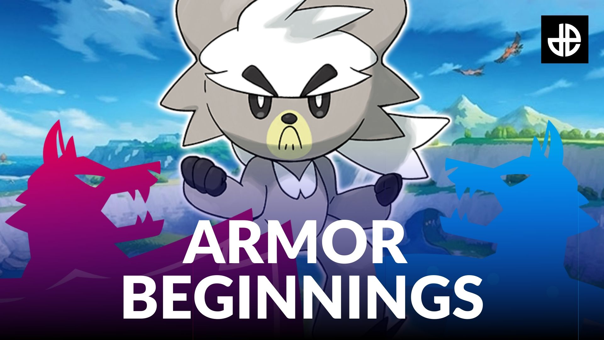Pokemon Armor Beginnings tournament graphic
