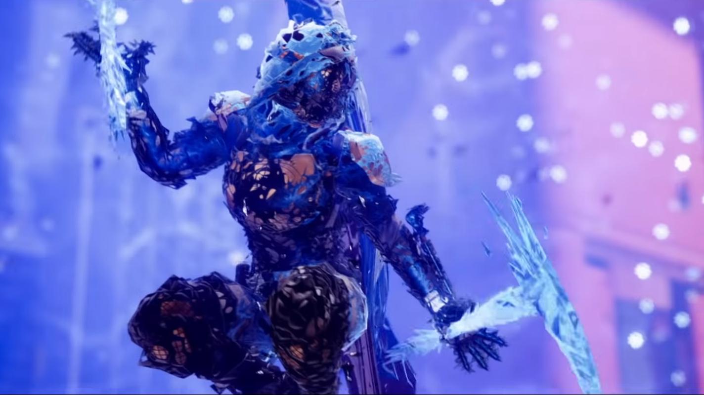 Guardian wields darkness in Destiny 2.