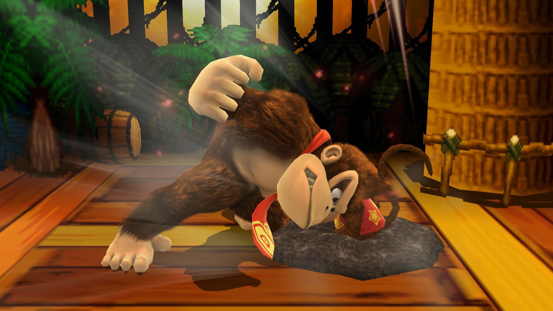 Donkey Kong in smash