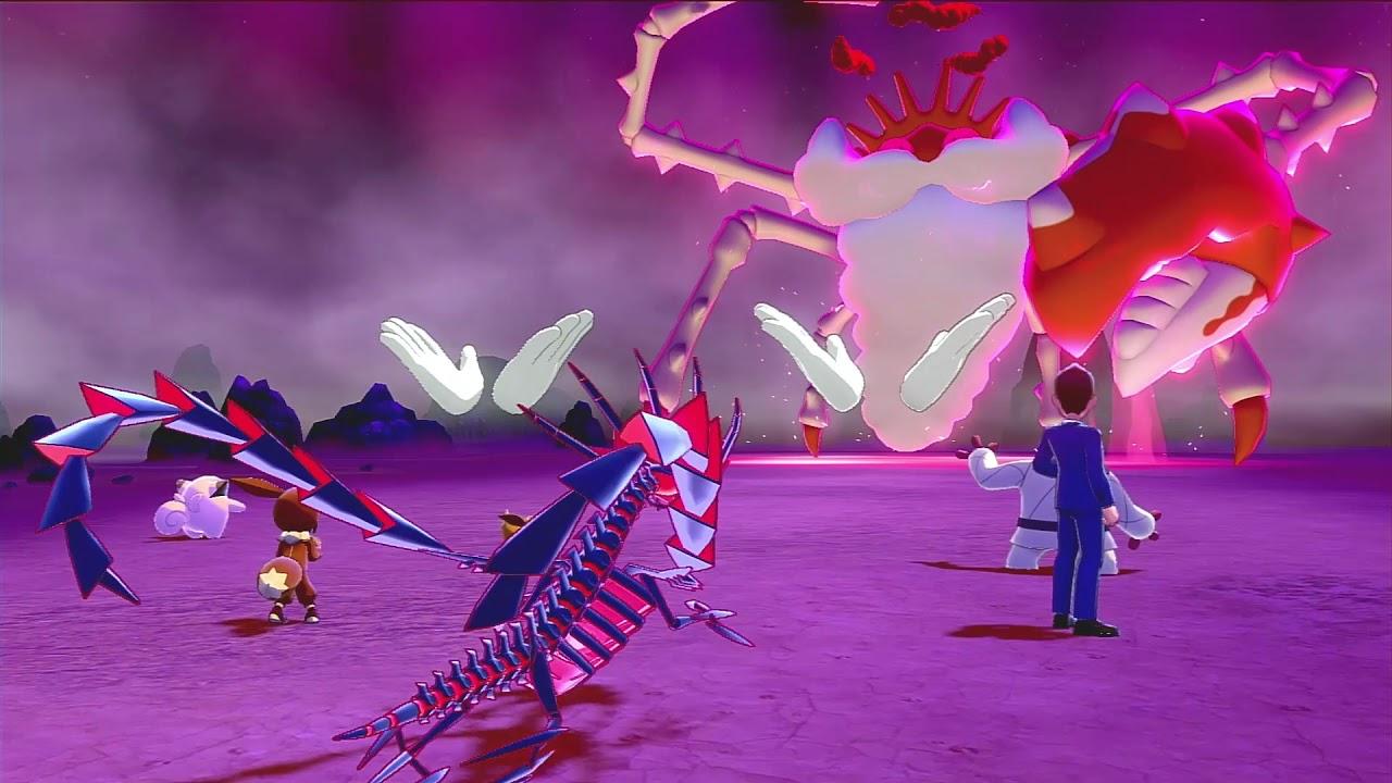 GMAX Kingler in Pokemon Sword and Shield