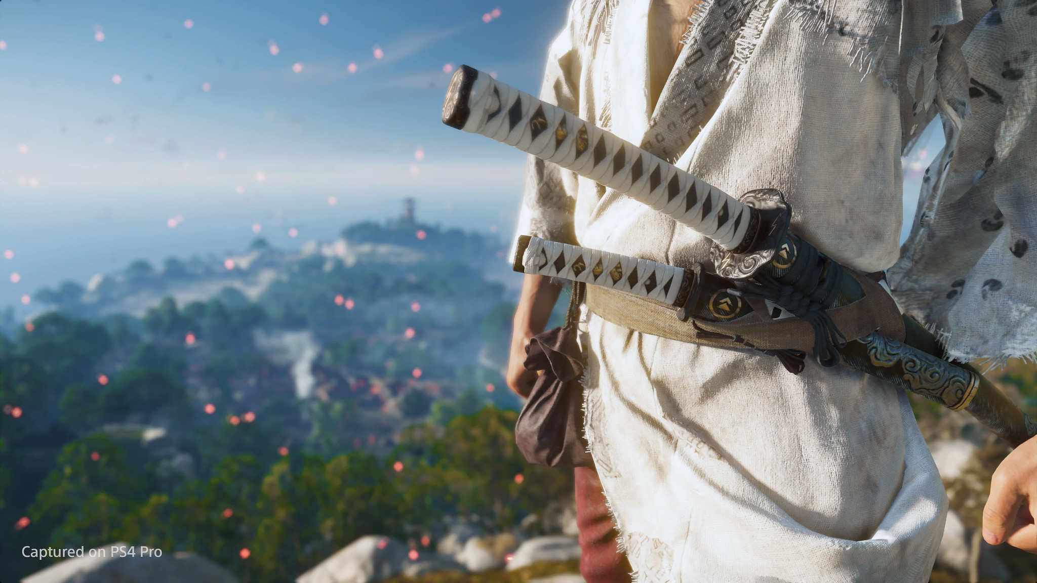 Ghost of Tsushima Jin's swords
