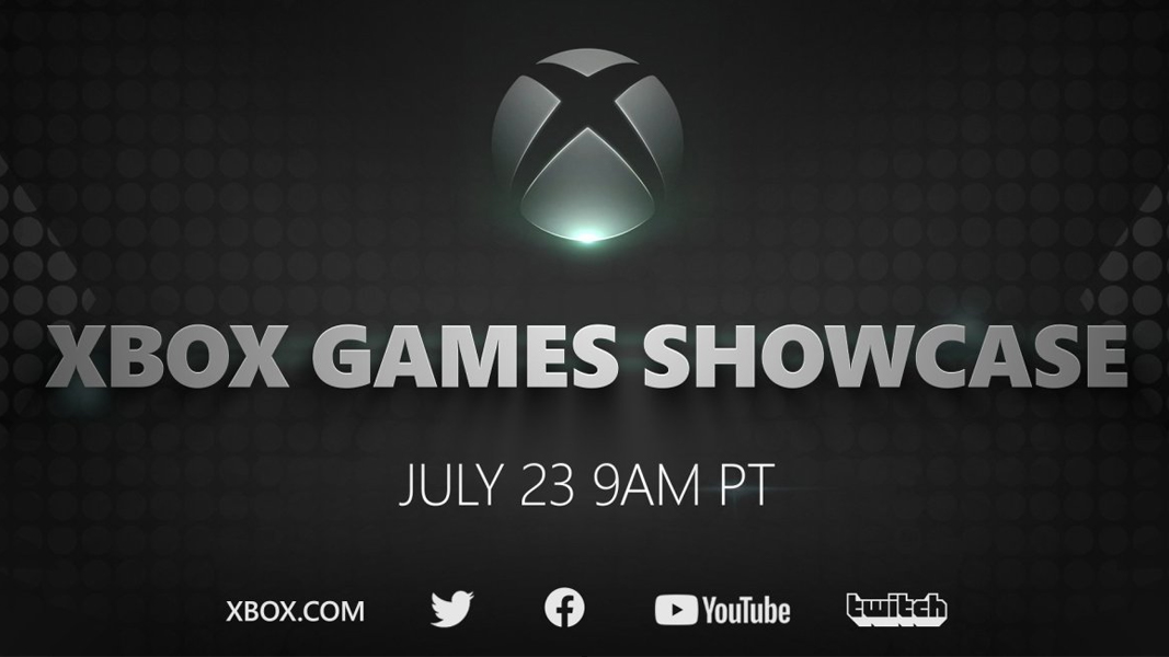 Xbox Games Showcase poster from Microsoft