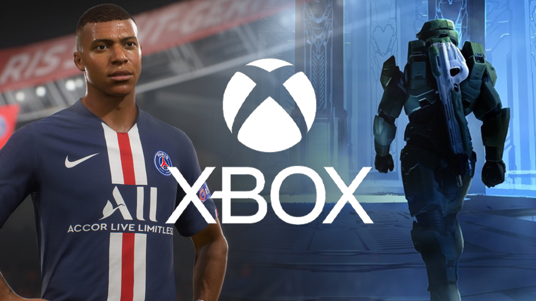 FIFA 21 Halo Infinite with Xbox logo