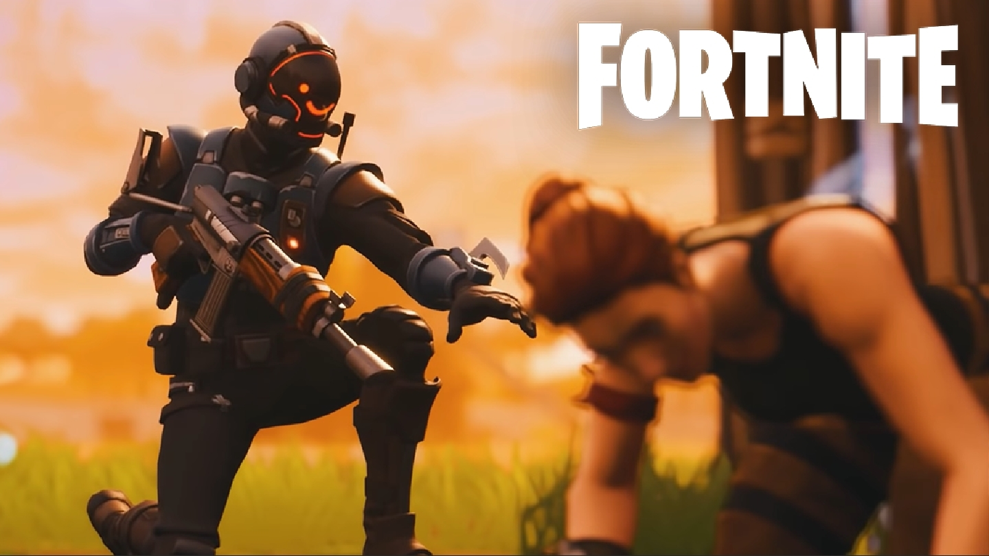 fortnite character reviving another character