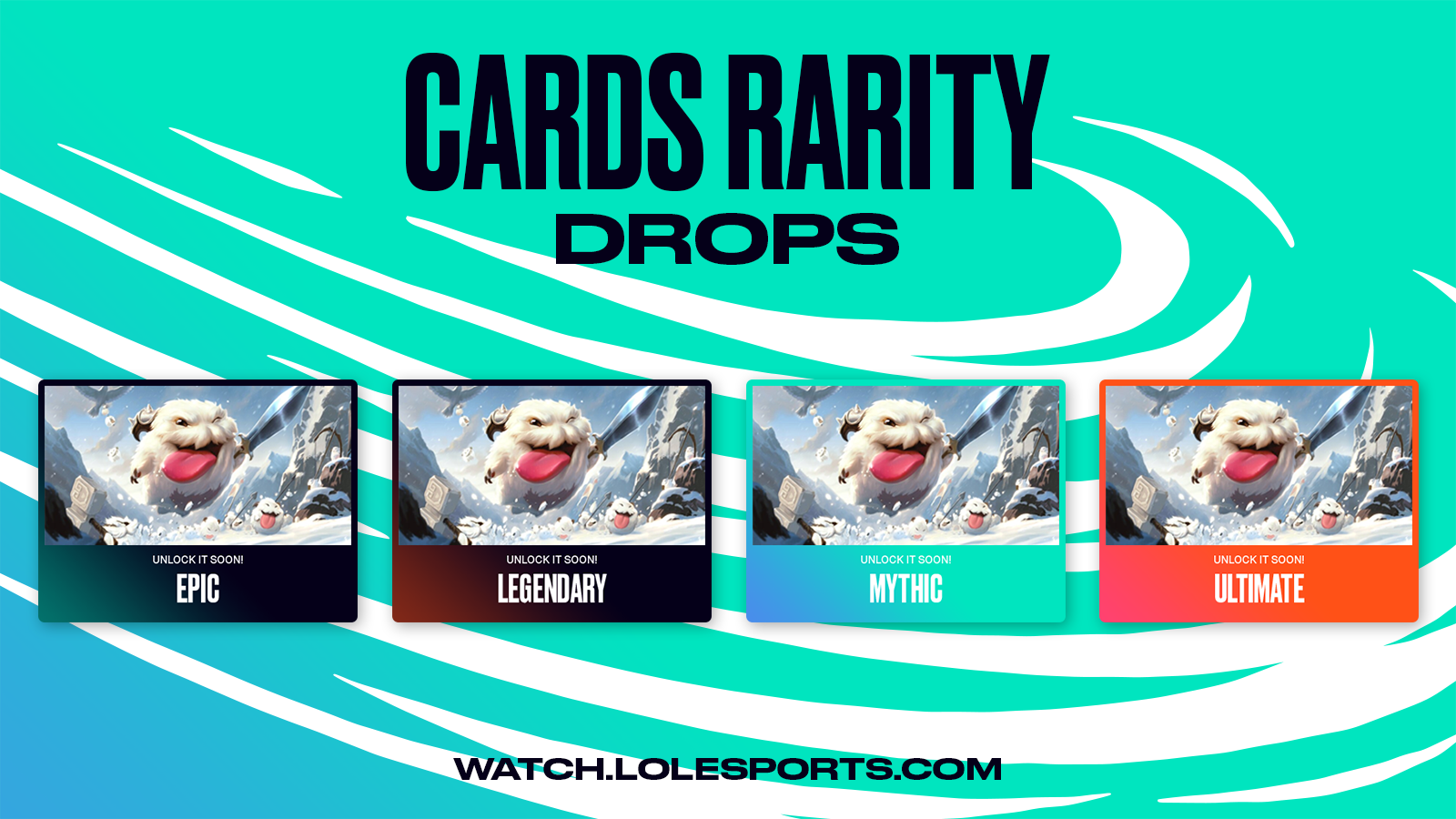 League of Legends drop rarities