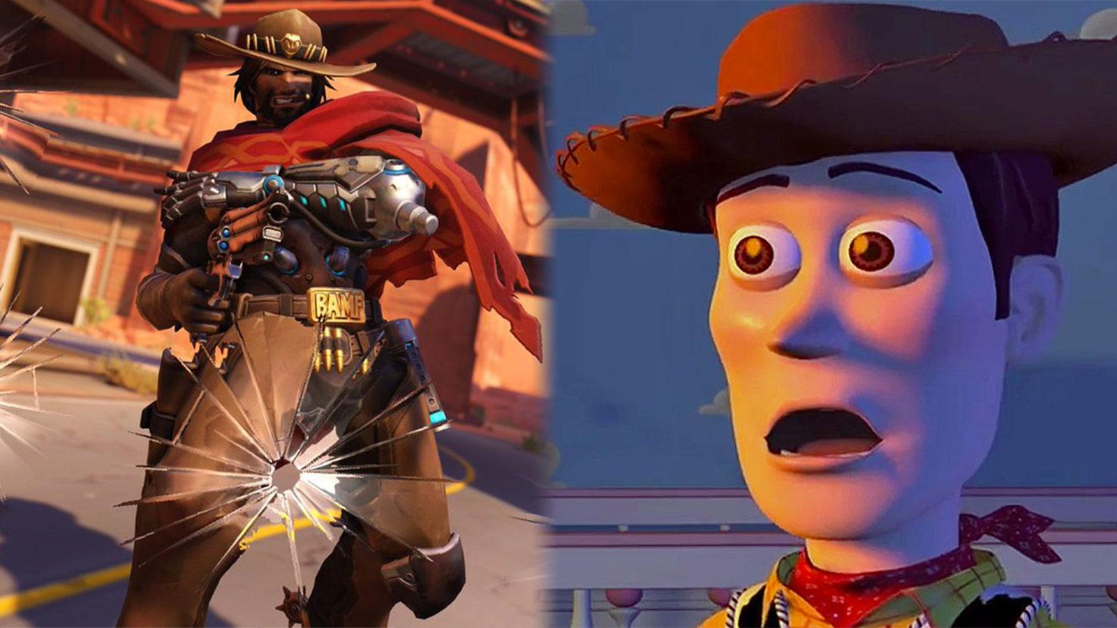 McCree Woody Toy Story Overwatch skin