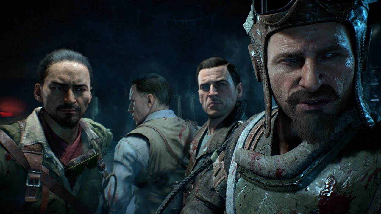 Potential Call of Duty 2020 Zombies characters.