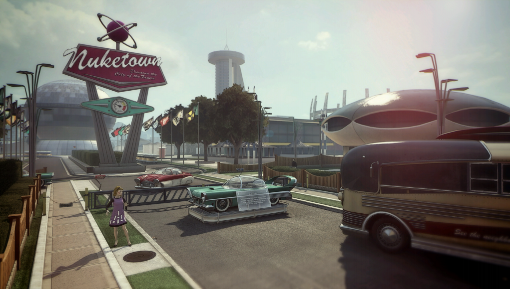Nuketown first debuted in Call of Duty Black Ops.