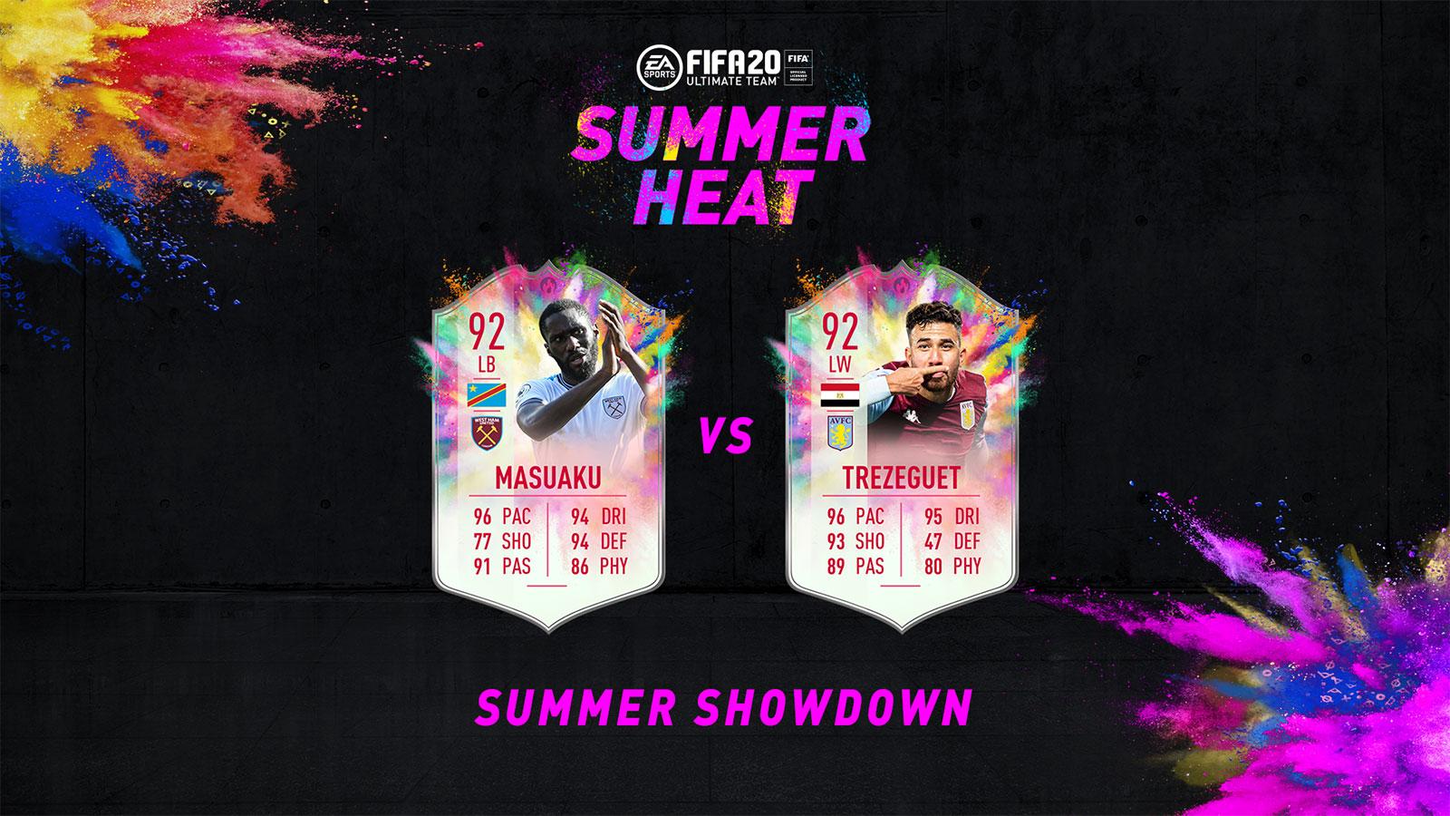 Masuaku vs Trezeguet Summer Showdown FIFA 20