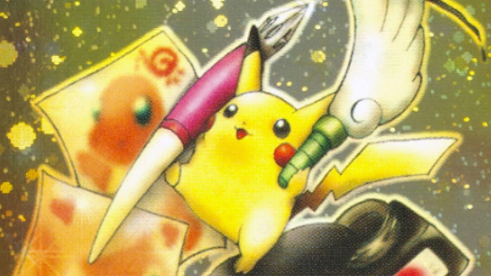 pikachu illustrator pokemon card