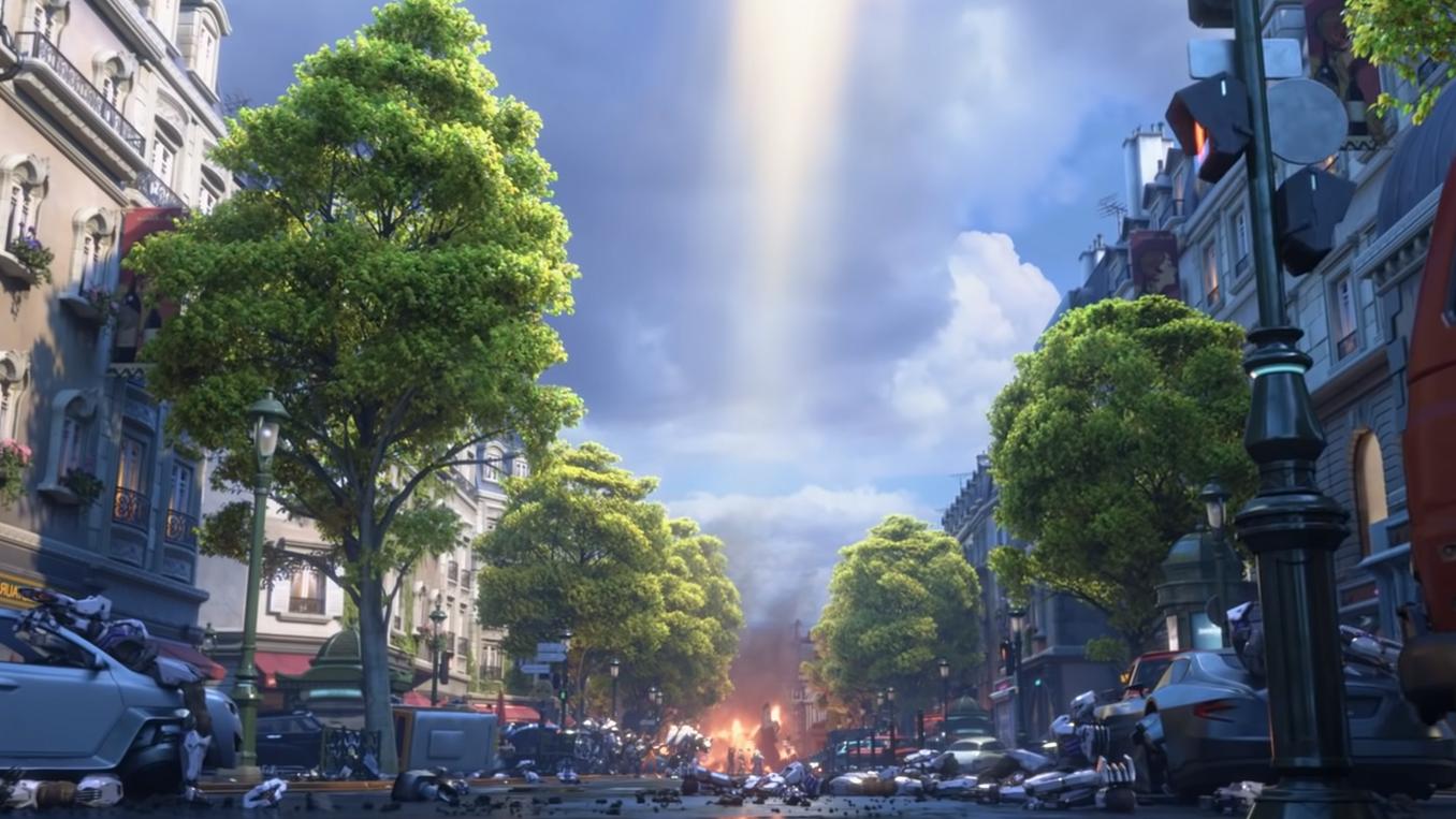 Paris in the Overwatch 2 Zero Hour teaser trailer.