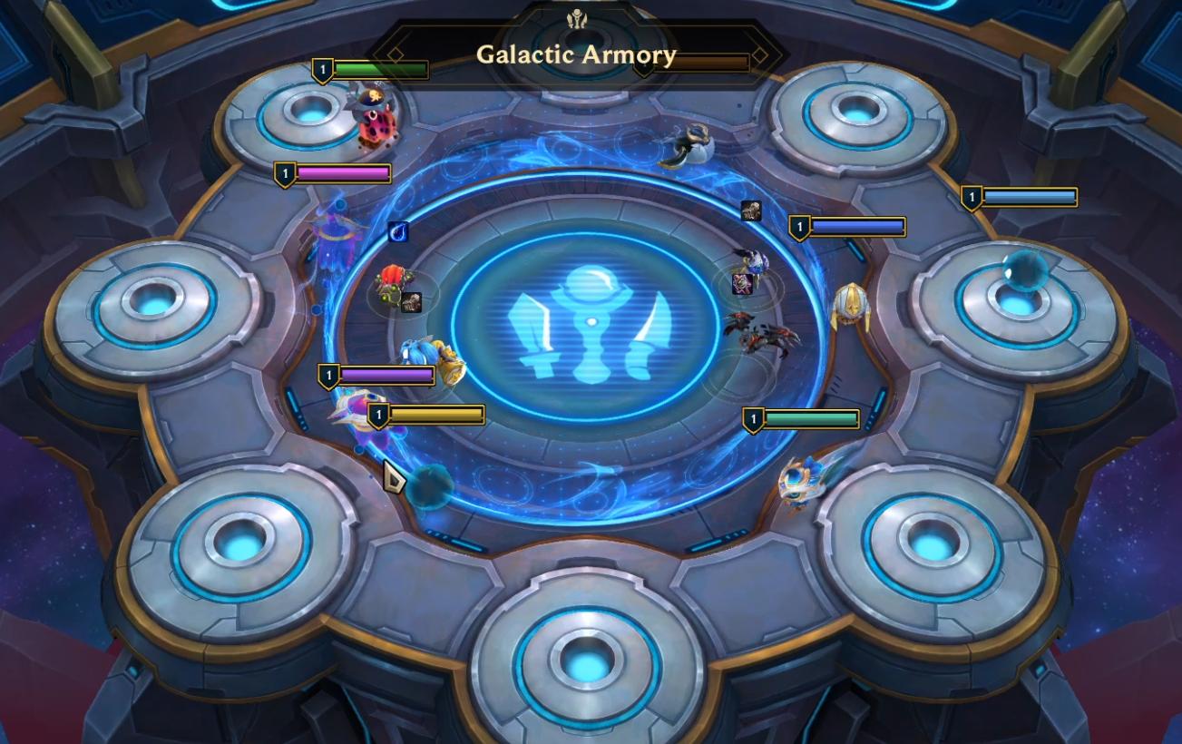 Galacity Armory Galaxy in Teamfight Tactics