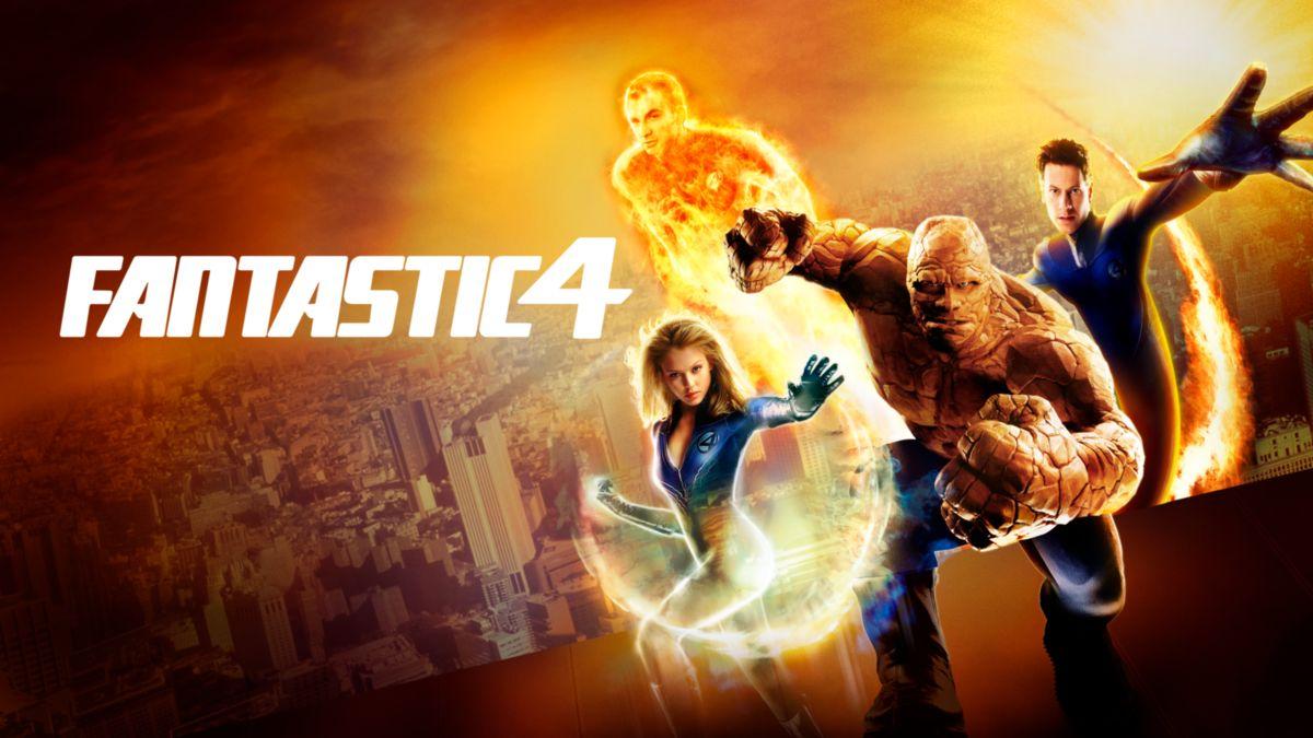 Fantastic Four 2005 key art